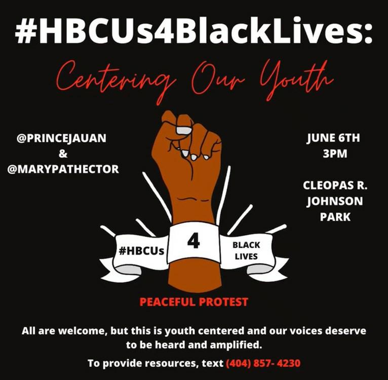 HBCUS4BlackLives Peaceful Protest