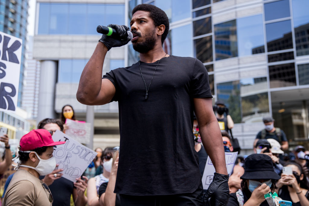 Hollywood Talent Agencies March To Support Black Lives Matter Protests
