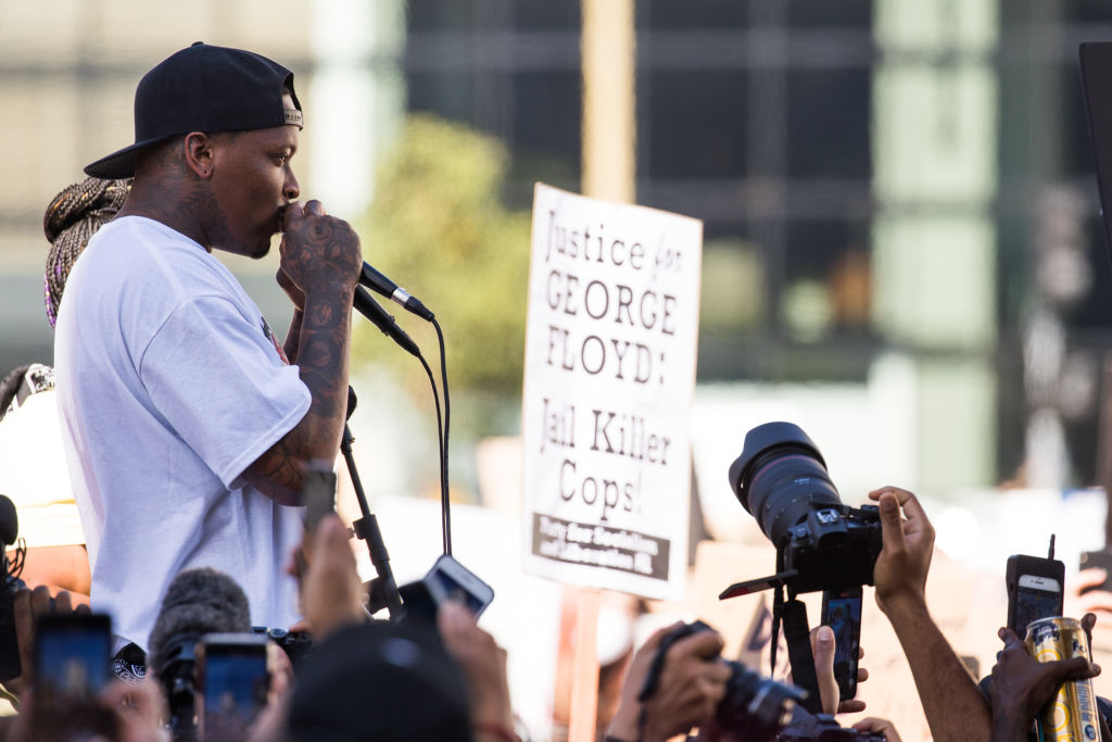 YG x BLMLA x BLDPWR Protest And March