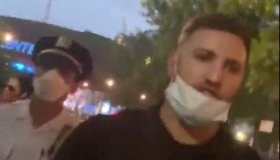 NYPD Assault Cop