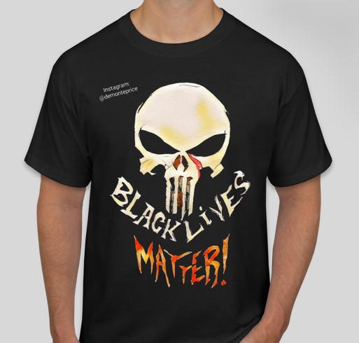Black Lives Matter - The Punisher