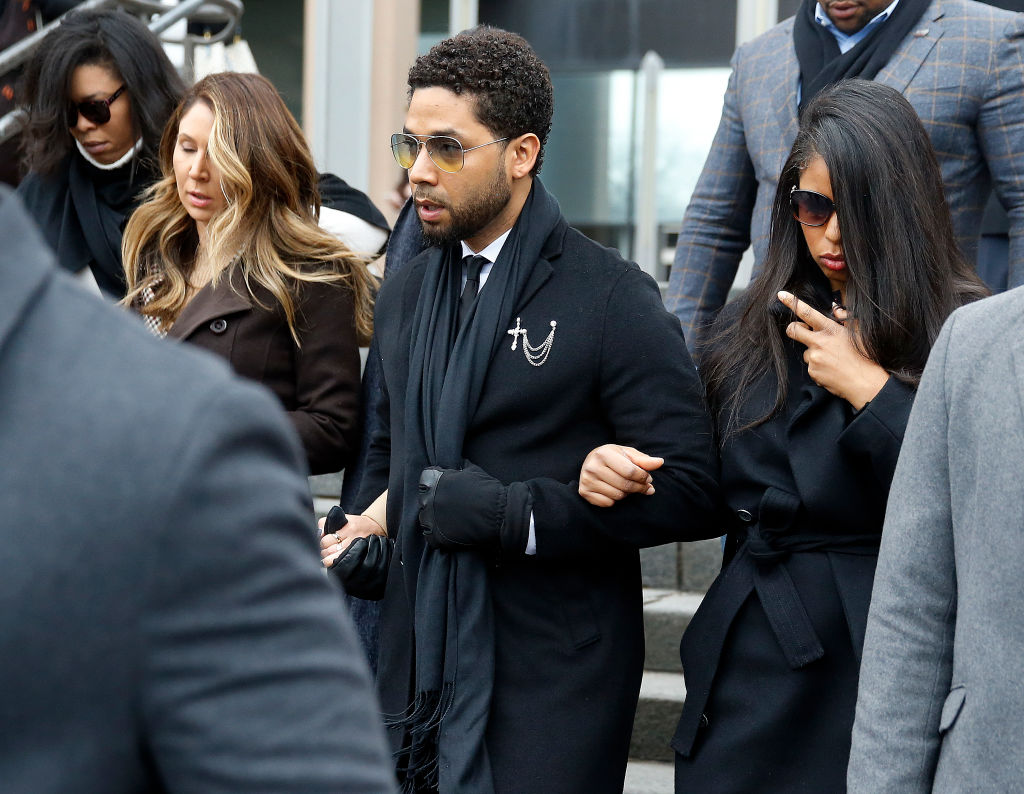 Actor Jussie Smollett Returns To Court After New Grand Jury Indictment