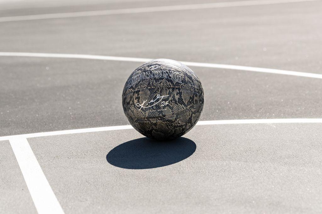 Kobe x 94 Series Silver Basketball