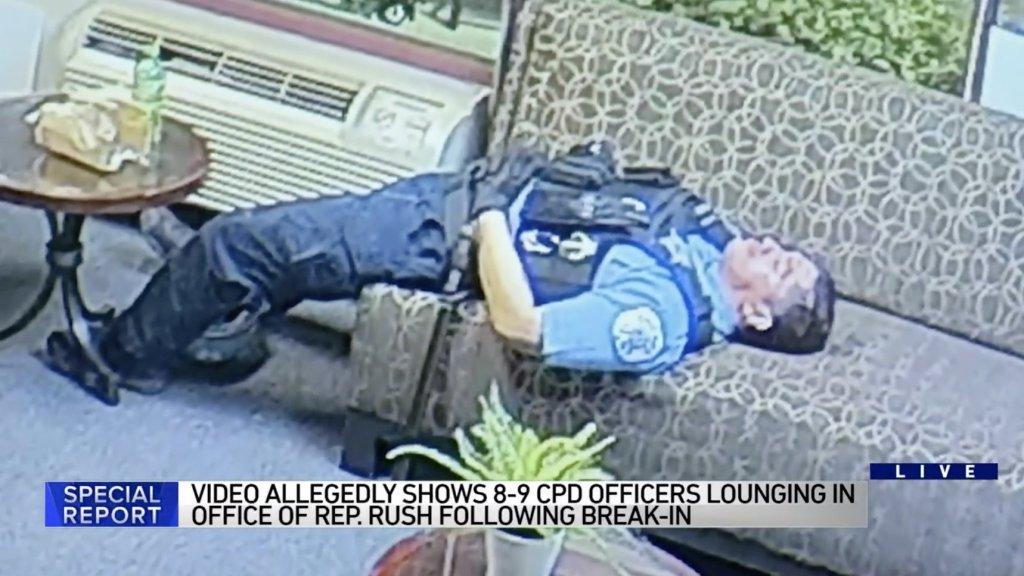 Bobbie Rush Office Cops