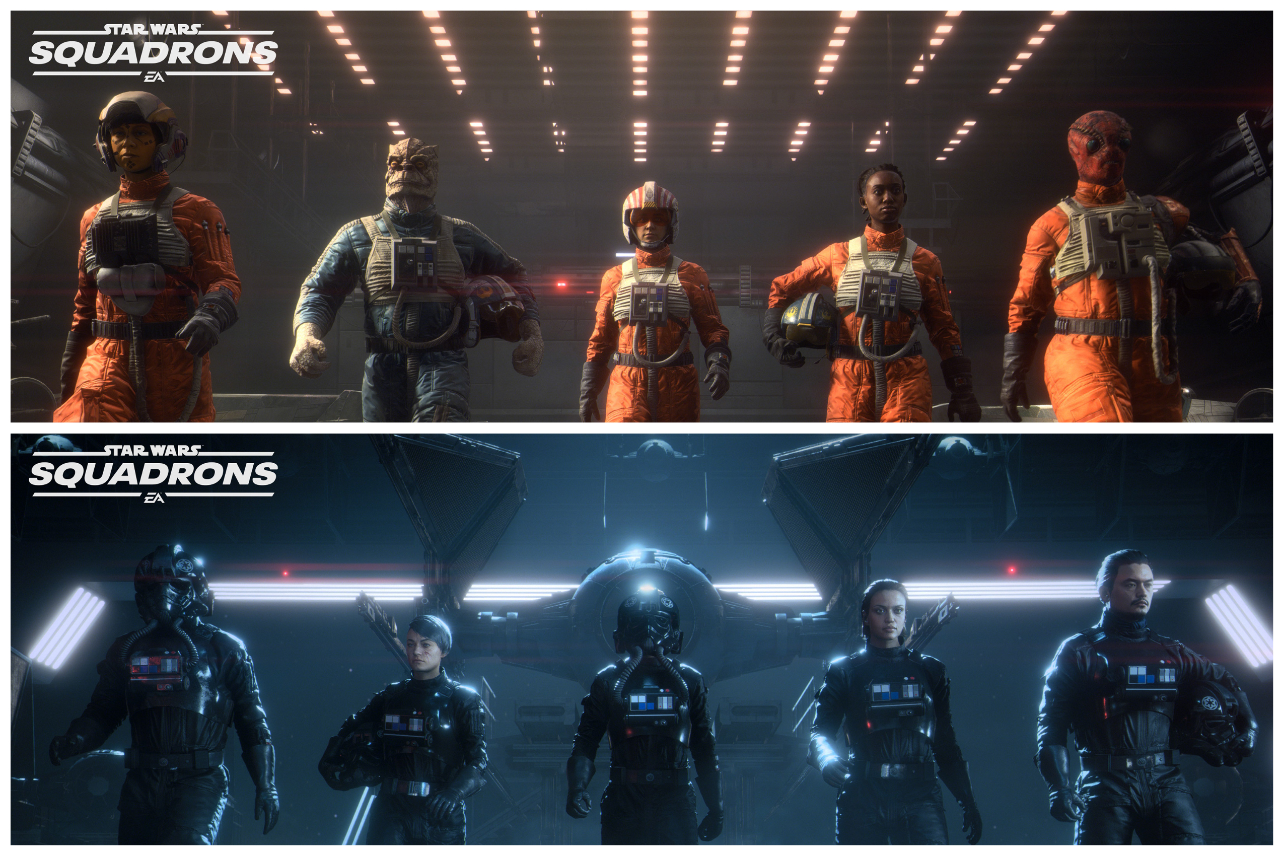 Watch The New 'Star Wars: Squadrons' Gameplay Trailer
