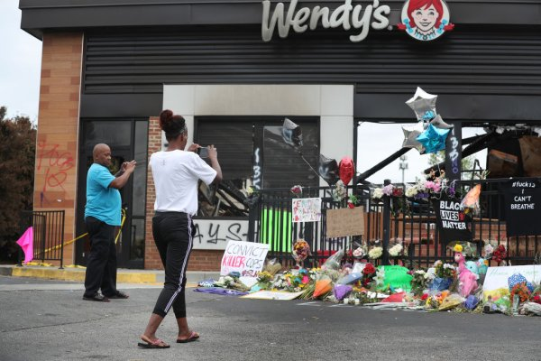 Protests Continue In Atlanta After Police Killing Of Rayshard Brooks