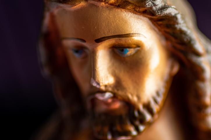 Close-Up Of Jesus Christ Statue