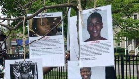black gun victims hanging noose milwaukee