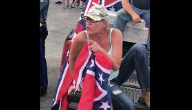Kathy Jenkins Confederate Flag