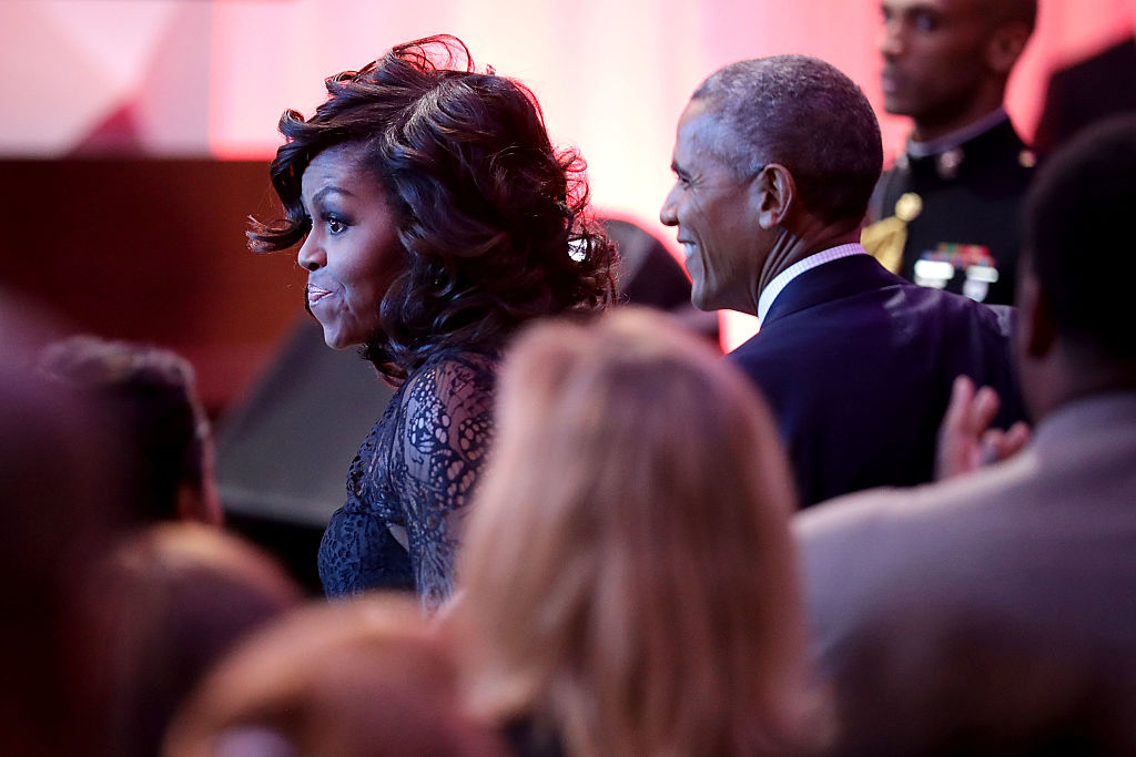President Obama And First Lady Speak At BET Event At The White House