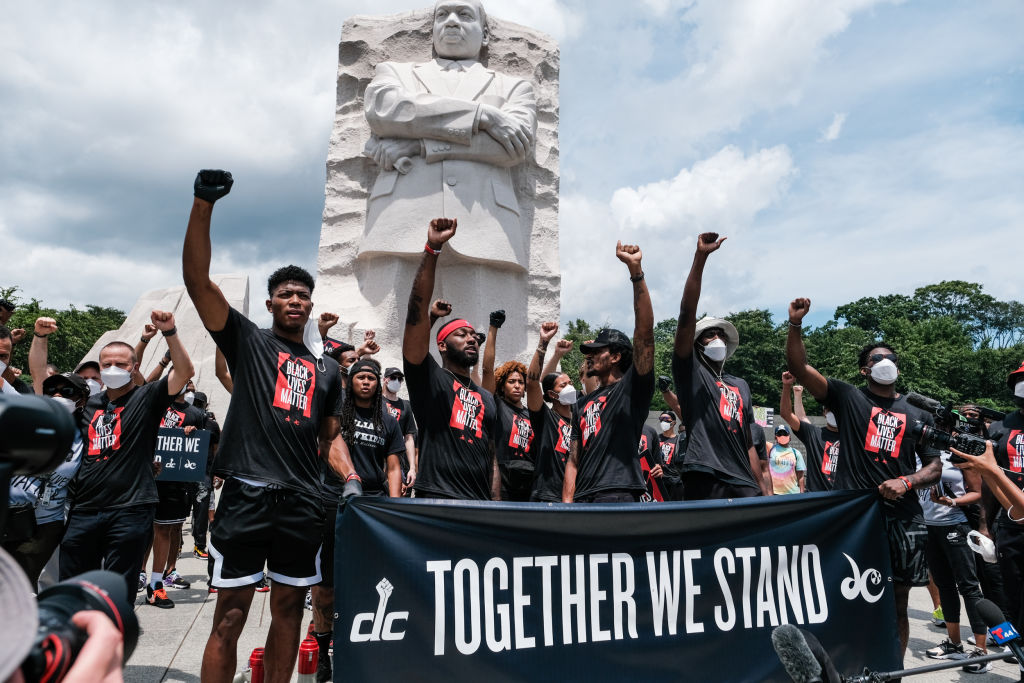 The NBA Will Reportedly Paint 'Black Lives Matter' On Courts