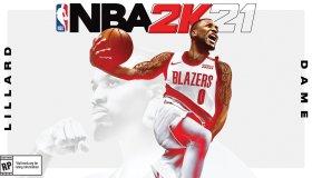 NBA 2K21 Damian Lillard Cover