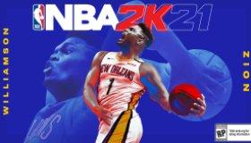 NBA 2K21 Zion Williamson Next-Gen Cover