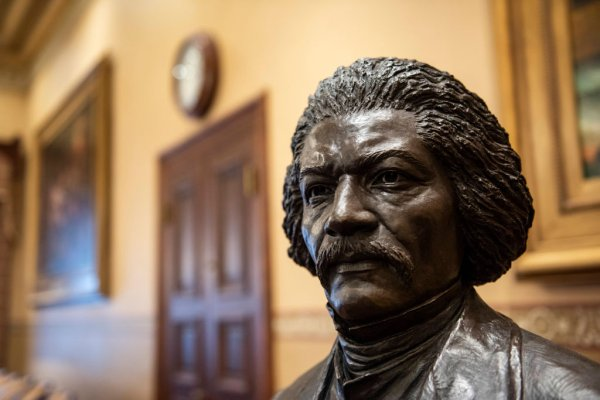 Tubman and Douglass statues unveiled at Maryland State House