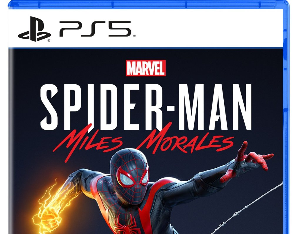 PlayStation 5 Spider-Man: Miles Morales Box Art