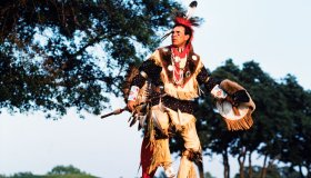 A Cherokee Dances