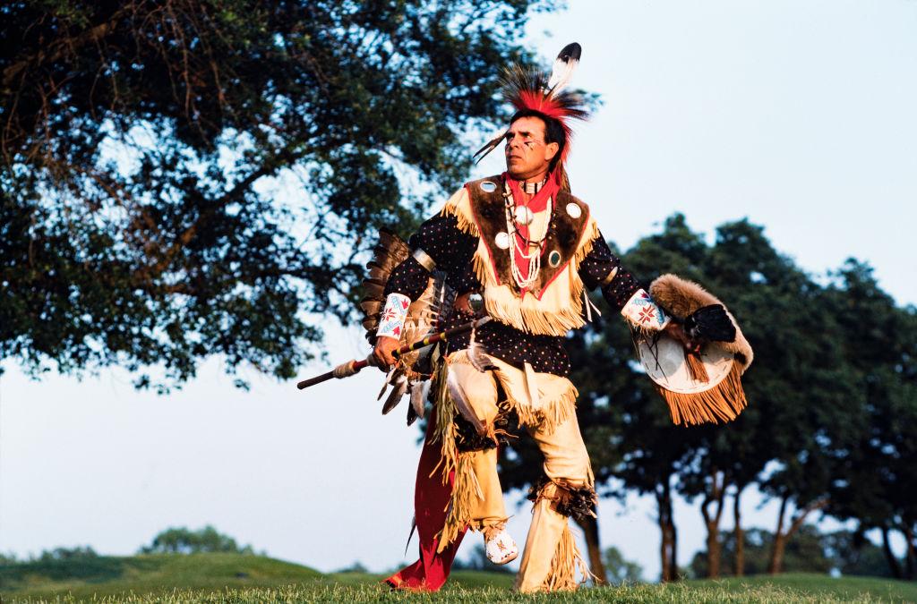A Cherokee Dances