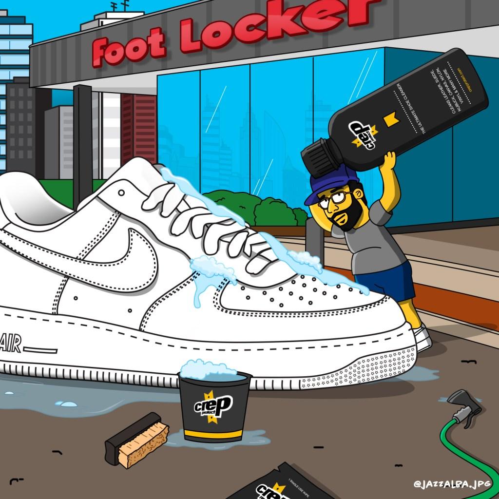 Sneaker Cleaning Day Prep School