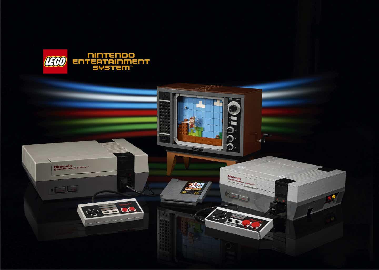 LEGO edition of classic Nintendo Entertainment System