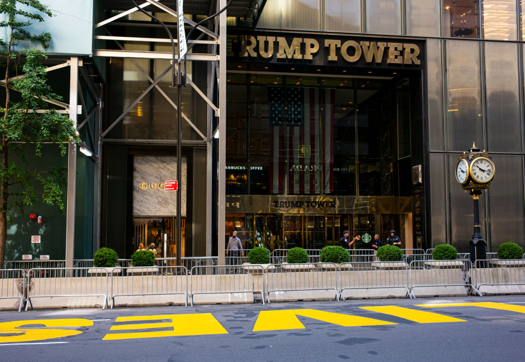Black Lives Matter Mural In Front Of Trump Tower