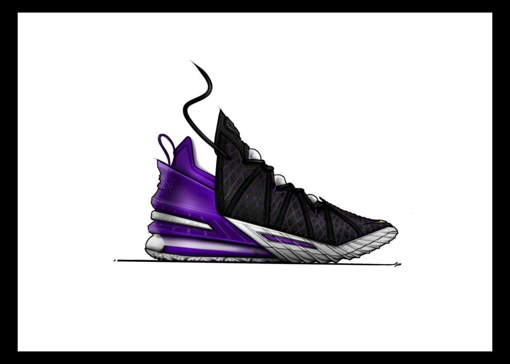 Nike LEBRON 18 Sketches