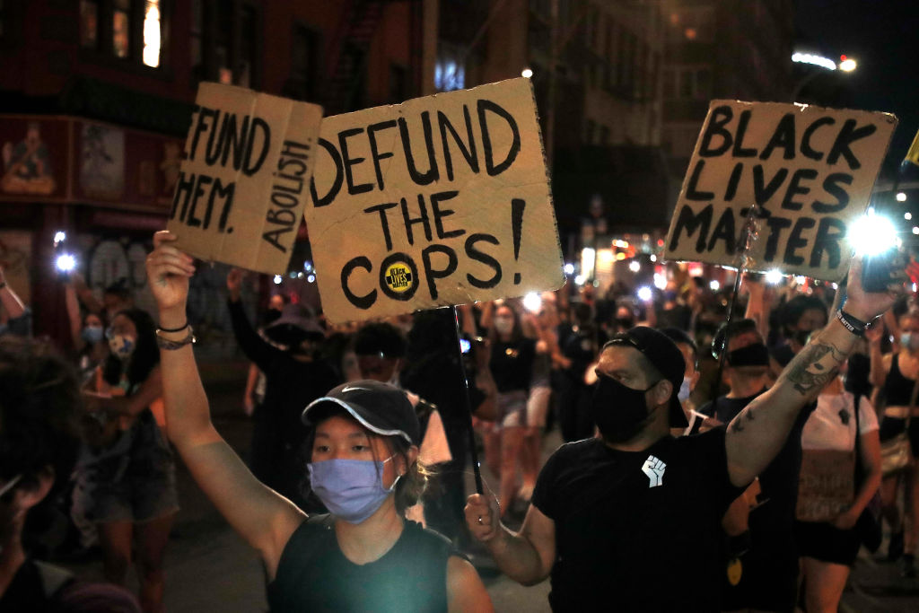 Activists Protest In New York