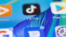 Illustration Of TikTok Logo