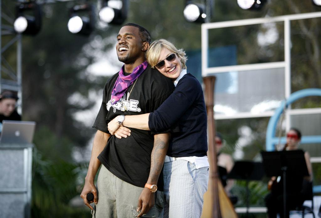 The Ellen DeGeneres Show Films the Second Annual Ellen in the Park with Kanye West
