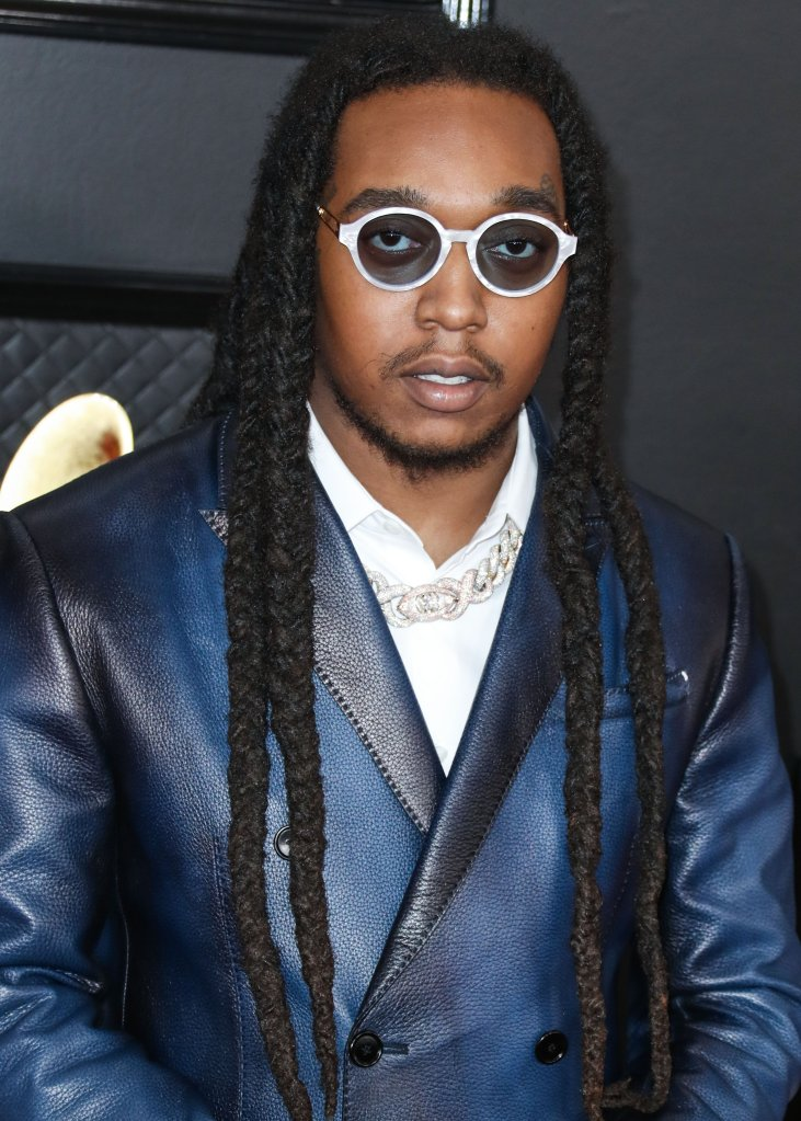 Takeoff arrives at the 62nd Annual GRAMMY Awards held at Staples Center on January 26, 2020 in Los Angeles, California, United States.