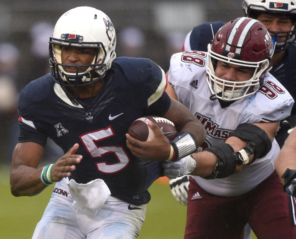 Mike Anthony: Former UConn QB David Pindell's pursuit of a professional football dream advanced by relentless approach on social media
