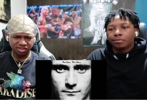 Tim & Fred Williams Phil Collins Reaction Video