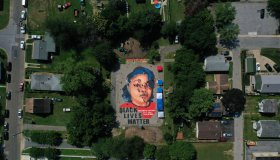 Large Mural Of Breonna Taylor Painted In Historically Black Maryland Neighborhood