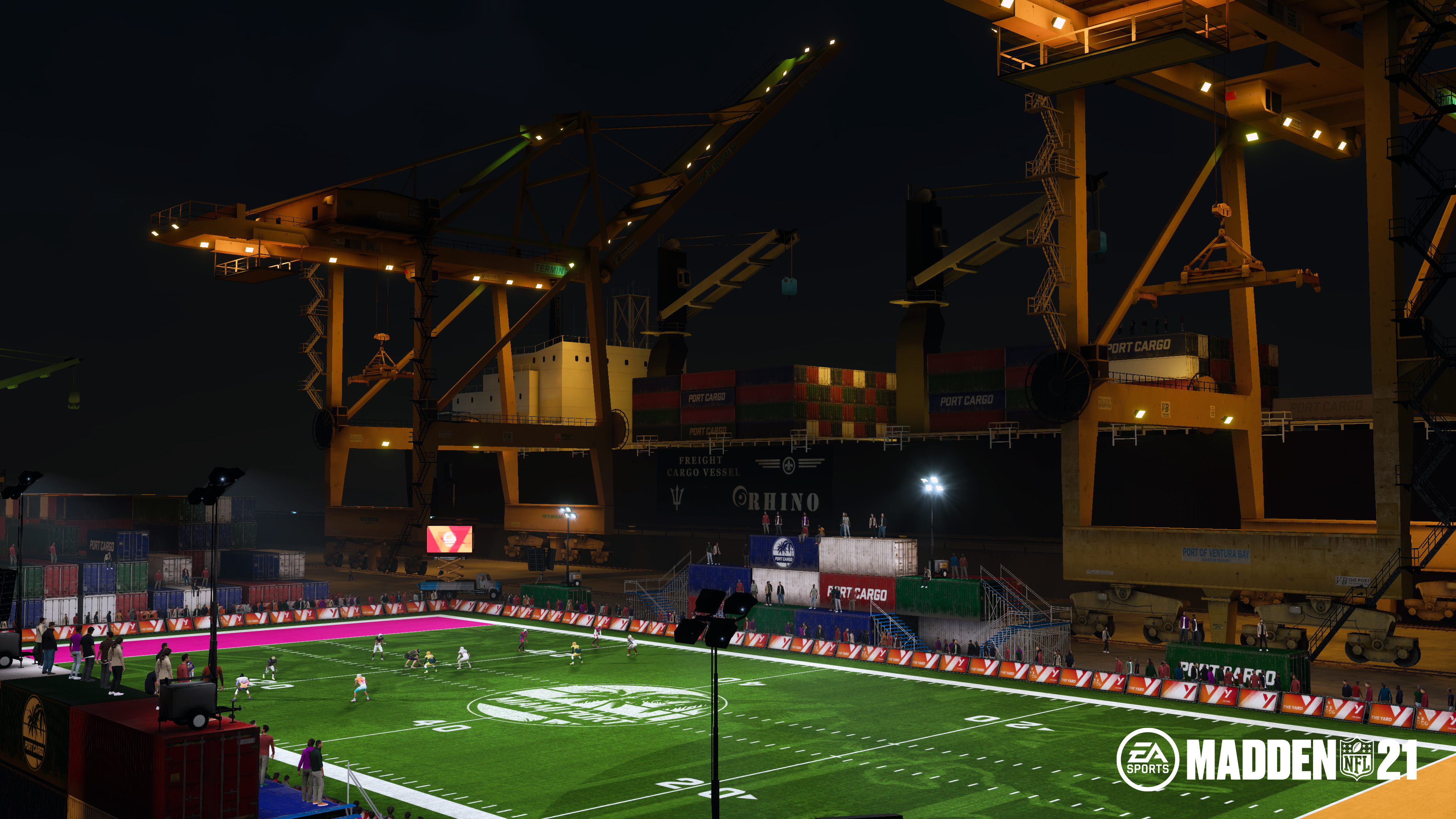 Madden NFL 21 The Yard