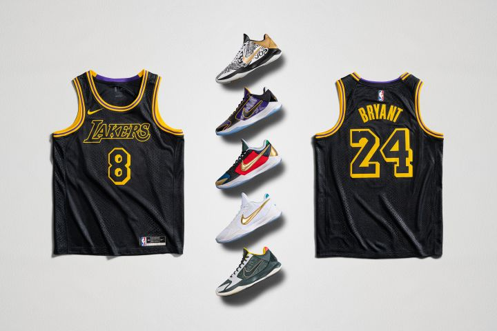 Kobe Footwear for Mamba Week
