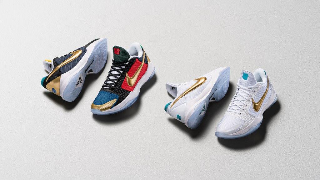 Kobe Footwear for Mamba Week