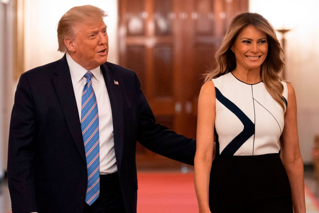 Donald & Melania Trump Request Mail-Ballots For Upcoming Florida Primary