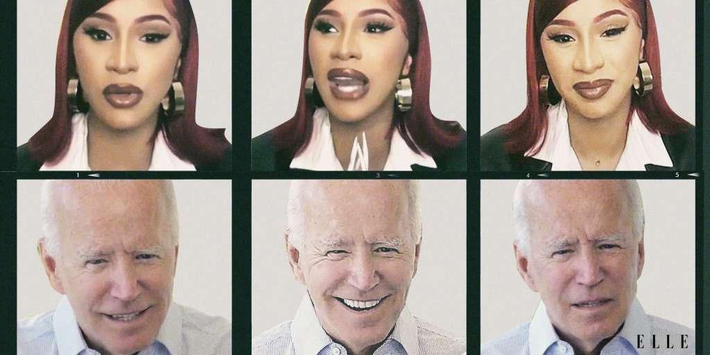 Cardi B & Joe Biden Rap Politics In Insightful Elle Magazine Interview