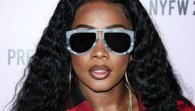 Remy Ma arrives at PrettyLittleThing x Saweetie during New York Fashion Week: The Shows held at The Plaza Hotel on September 8, 2019 in Manhattan, New York City, New York, United States.