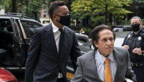 Cuba Gooding Jr. arrives to Criminal Court
