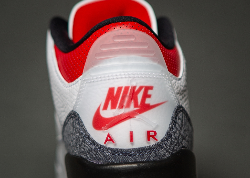 "Air Jordan 3 SE Denim ""Fire Red"""
