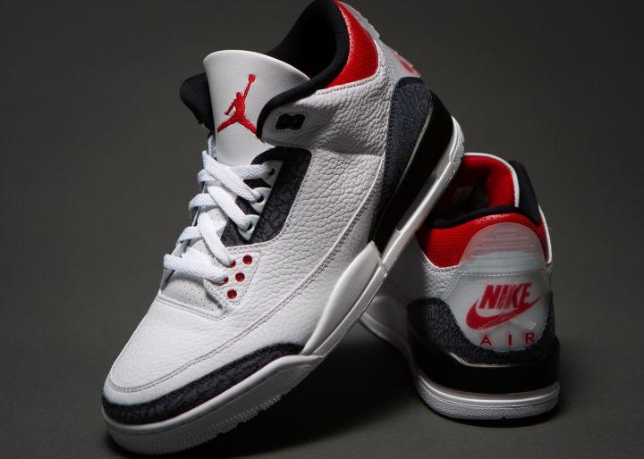"Air Jordan 3 SE Denim ""Fire Red"""