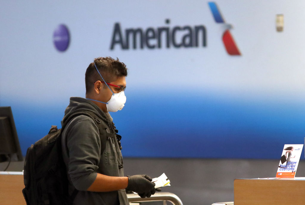 American Airlines To Cut A Third Of Its International Flights Amid Major Travel Slowdown Due To Coronavirus Outbreak