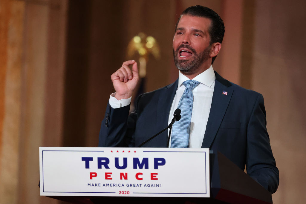#CocaineConvention Trends Follow Don.Jr & His Girlfriend's RNC Speeches