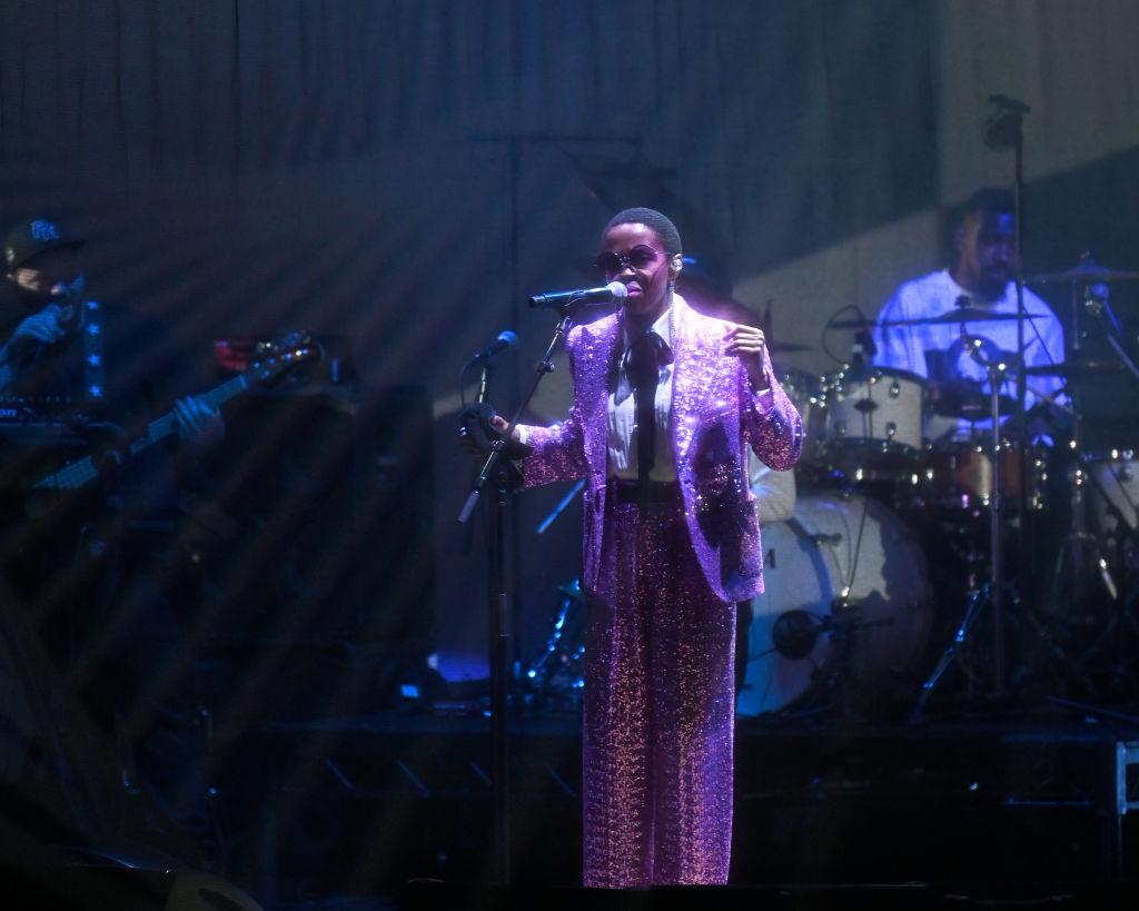 Lauryn Hill Performs At BGR!Fest