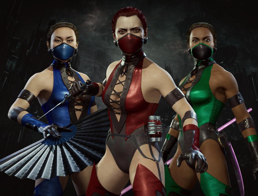 'Mortal Kombat 11: Aftermath Klassic Femme Fatale Skin Pack Has Arrived