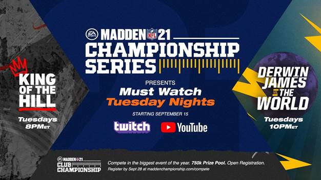 EA & NFL Partnering For Revamped 'Madden NFL 21' Championship Series