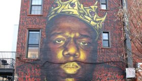 The Notorious B.I.G. Mural in Brooklyn