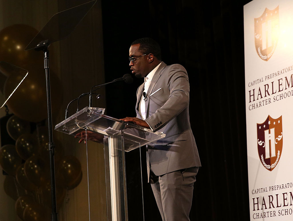 """Sean """"Diddy"""" Combs Officially Opens Capital Prep Harlem Charter School"""
