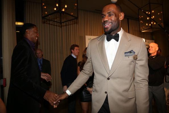 LeBron James & Scottie Pippen Flame Jay Williams & Richard Jefferson