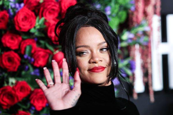 (FILE) Rihanna's Charity Donates $5 Million for Global Coronavirus COVID-19 Pandemic Relief. Rihanna...